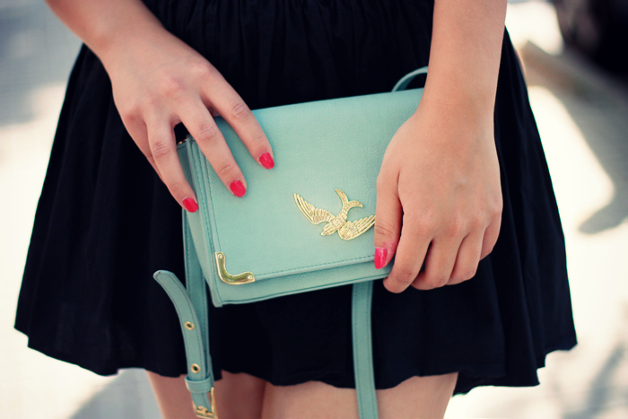 I absolutely adore this mint purse!