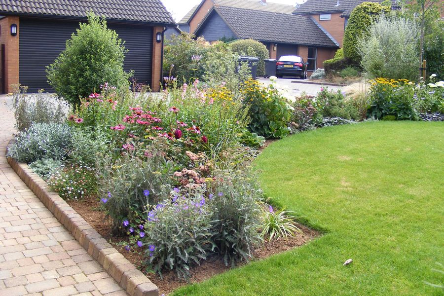 Our design for a front garden in Stoke Bishop, Bristol ...