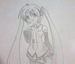 Resultado de imagem para desenhos hatsune miku