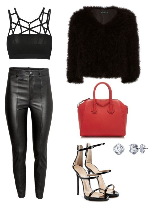 """Girls night out"" by kenvastrachan on Polyvore featuring Jocelyn, Givenchy and Giuseppe Zanotti"