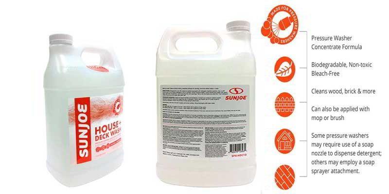5 Best Pressure Washer Detergent Soap Reviews 2018 Buying Guide In 2020 Best Pressure Washer Pressure Washer Washer