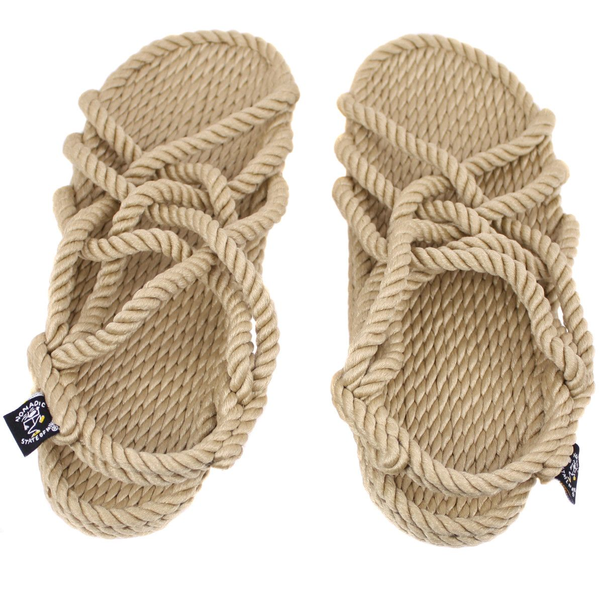 204dbadbd3e0 Nomadic State of Mind Rope Sandals. Jesus shoes.