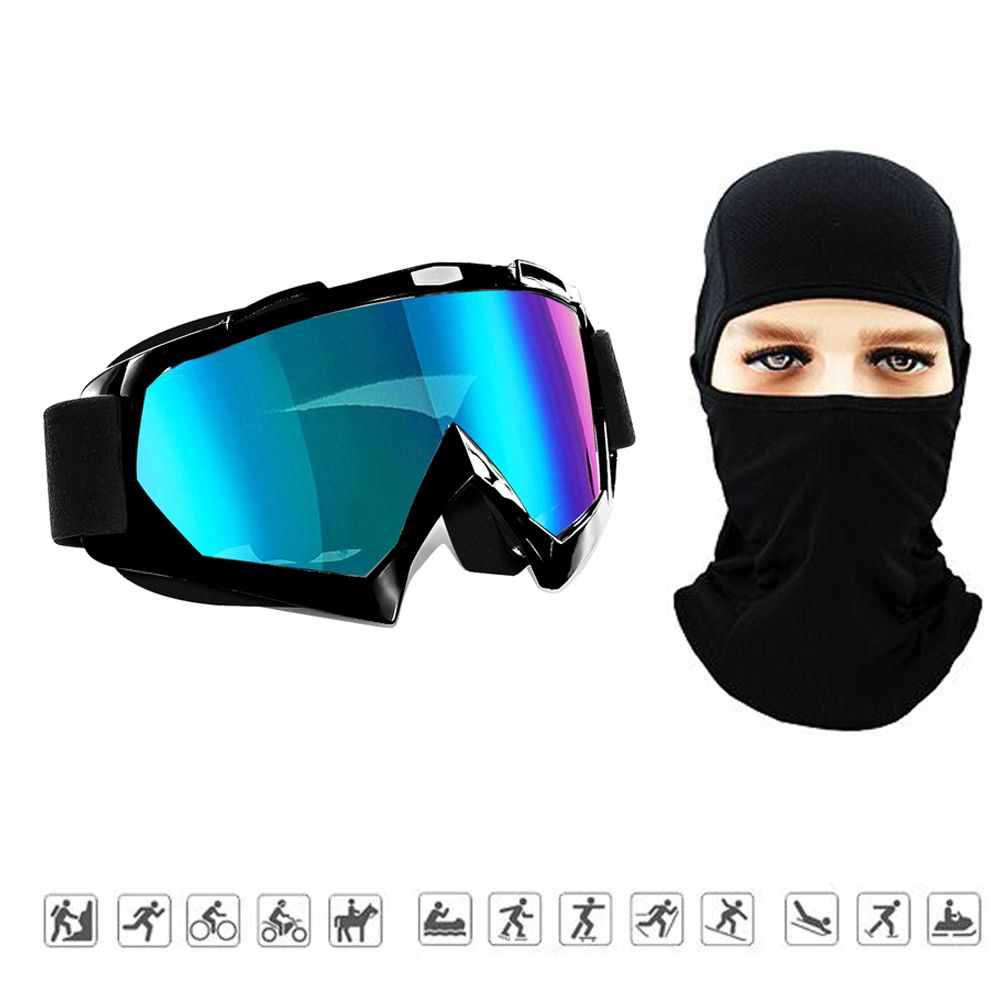 Ski Goggles Wind Resistant Neck Warmer Winter Ski Balaclava Face Mask For Men Women And Youth Black With Images Snowboard Goggles Ski Goggles Winter Face Mask