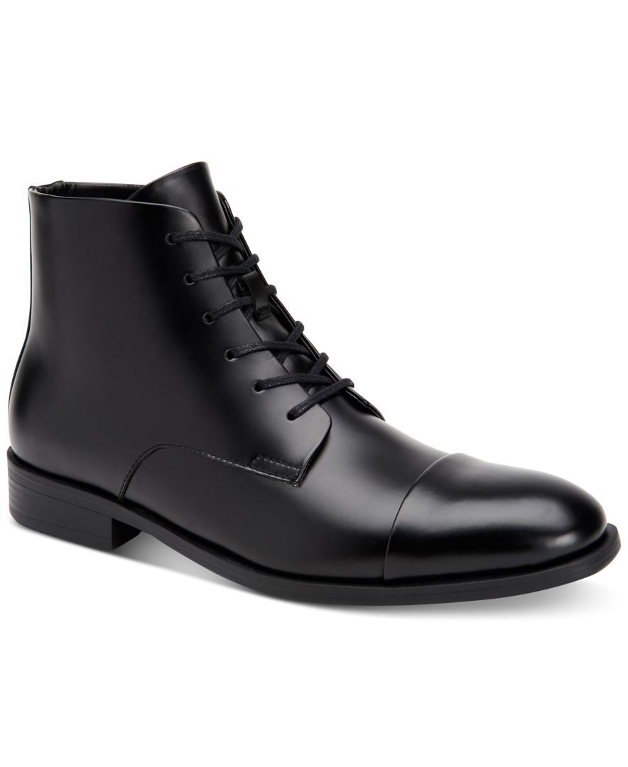 Calvin Klein Men's Darsey Dress Boots With Inside Zip - All Men's Shoes -  Men - Macy's