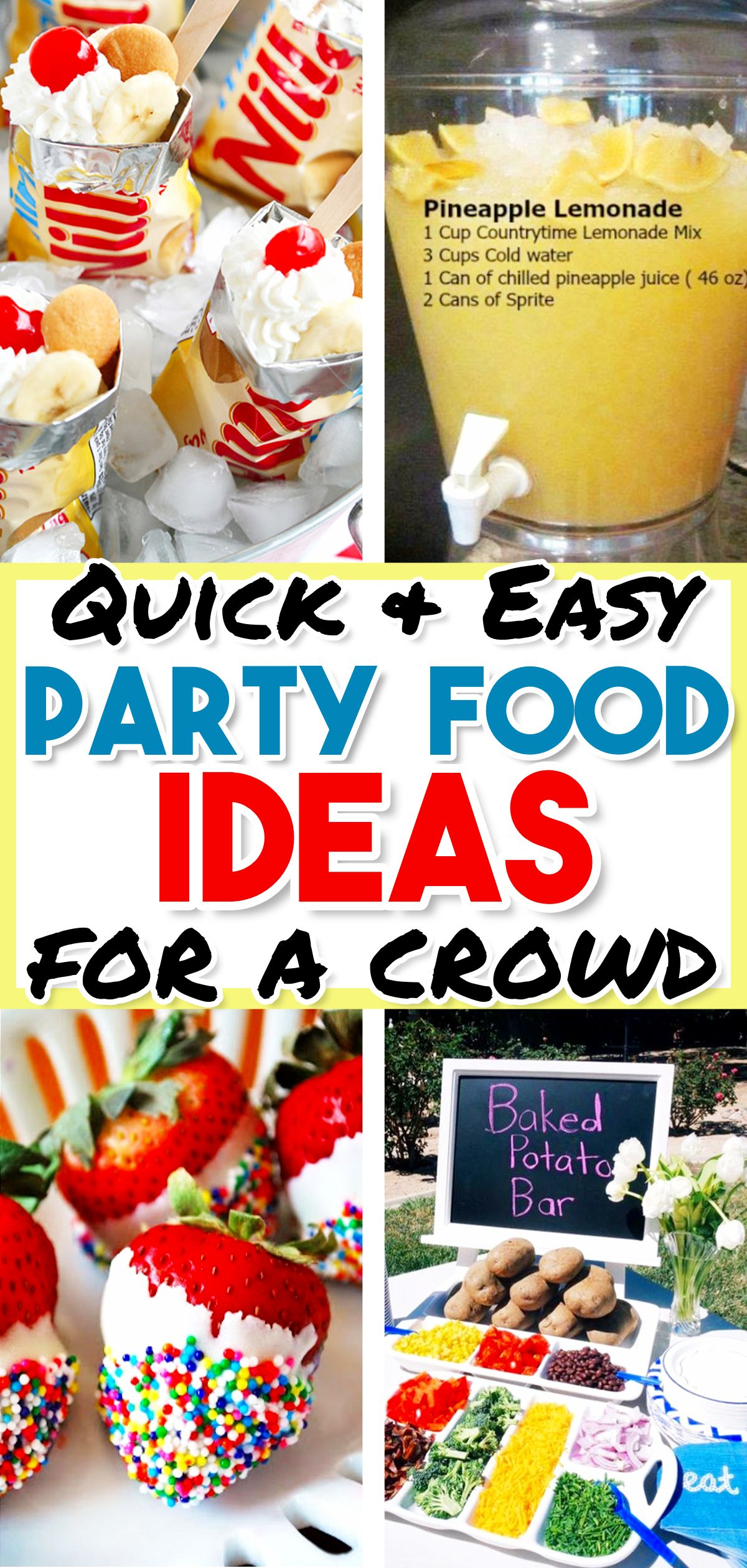 Food Ideas For A Bbq Party Easy Summer Cookout Foods We Love Cheap Party Food Party Snacks Easy Summer Food Party