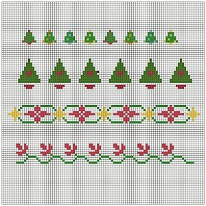 Free Christmas Cross Stitch Patterns - Free Christmas Patterns ...