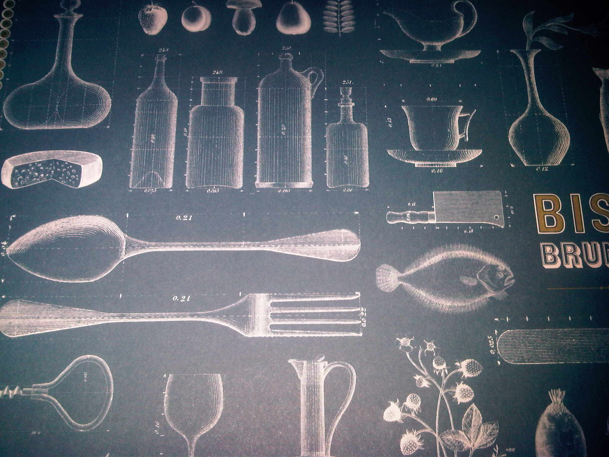 placemat - Zetter's bistrot