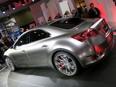 2008 New York Auto Show Suzuki Kizashi 3 Concept Preview