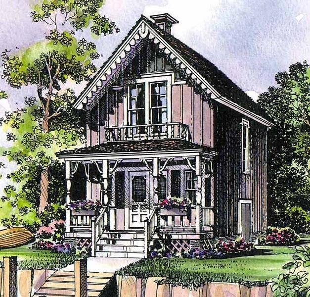 Lovely Tiny Victorian House Plans Part - 3: House · Tiny Victorian ...