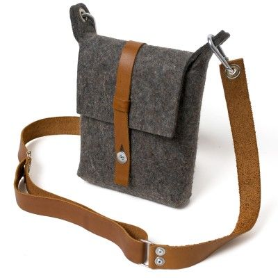 62bd93d9e7 More new bags from Paco Design - Carga Felt Sling Bag AU$169 | Man Bags