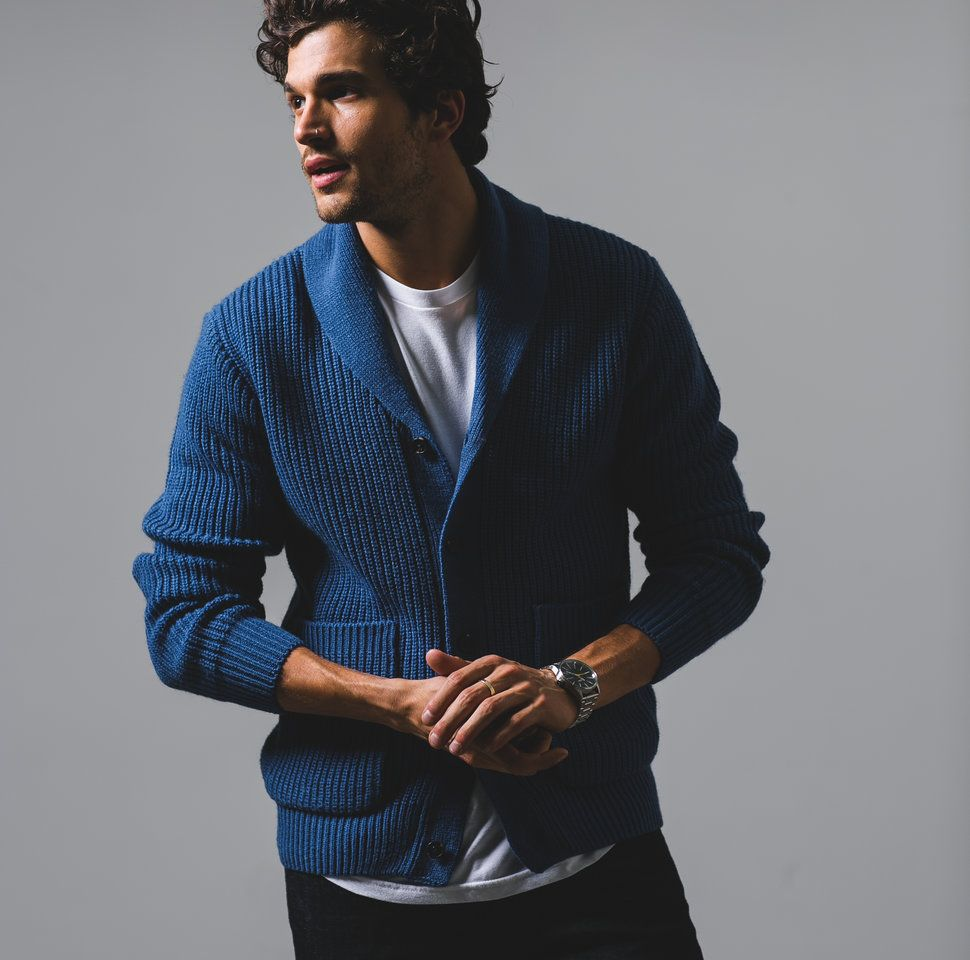 How to wear a Cardigan The Idle Man 73