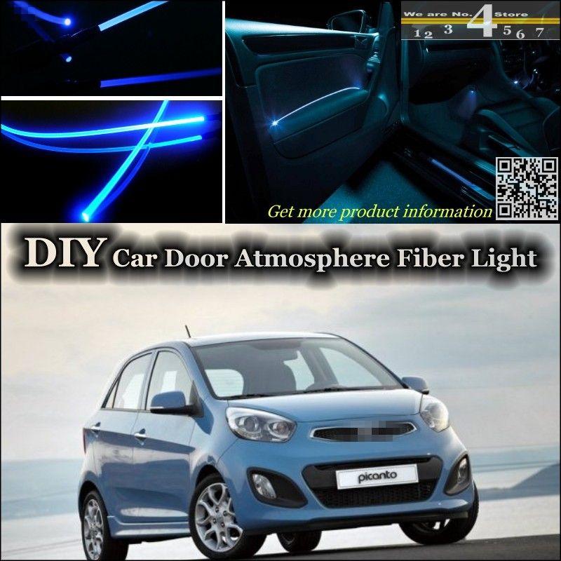 For Kia Eurostar Picanto Morning Naza Suria Interior Ambient Light Tuning Atmosphere Fiber Optic Band Lights Inside Door P Ambient Lighting Inside Doors Lights
