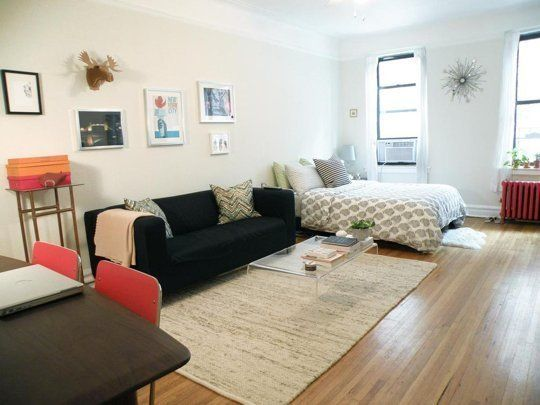 Studio Apartment Design Ideas 500 Square Feet small apartment living room design 2 Small Space Lessons Floorplan Solutions From Tamars Sunny Studio