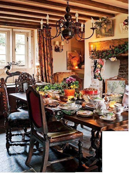 English Home Cottage InteriorsEnglish