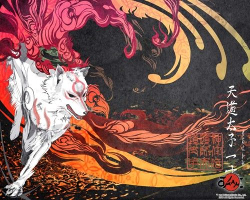 Really Love This Okami Art I Don T Know If It S Official Or