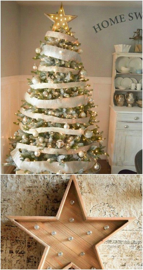 40 rustic christmas decor ideas you can build yourself tree 40 rustic christmas decor ideas you can build yourself solutioingenieria Gallery