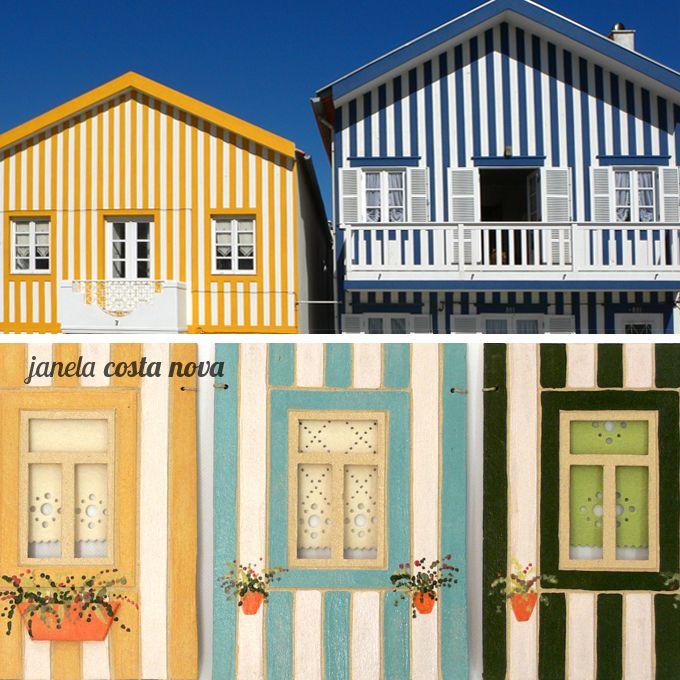 Portuguese Windows Costa Nova And Doors