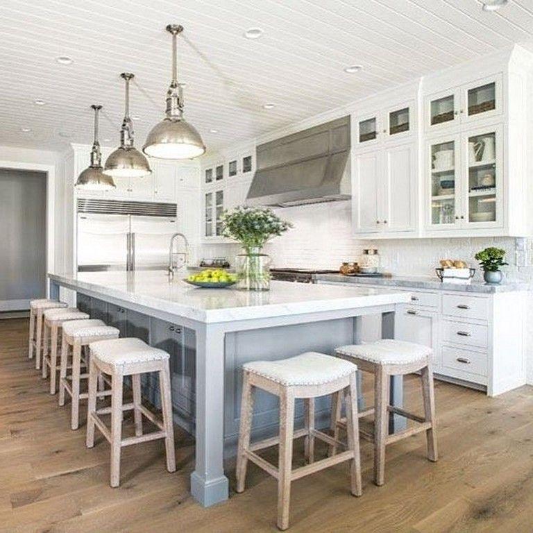 36 Amazing Kitchen Island Decoration Ideas Kitchen Cabinets