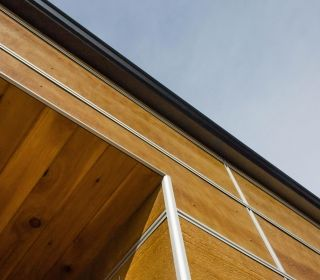 Easytrim Reveals Clear Anodized Silver Rounded Outside Corner Is The Sophisticated Architectural Element To Complim Exterior Siding Siding Trim Cement Panels