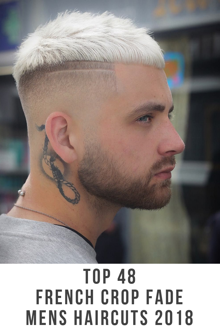 Popular mens haircuts 2018 your next haircut   best french crop fade mens hairstyles