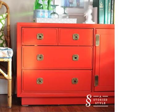 Oriental Furniture   Red
