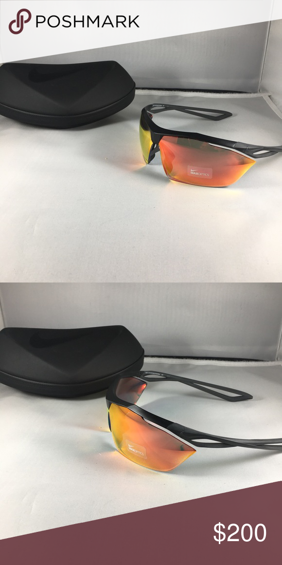9c7ef30bb652 Nike Vaporwing Elite R sunglasses Brand New Nike Vaporwing Elite R  sunglasses. Color is Matte Black with Speed Tint. Lens color is UML Red  Flash.