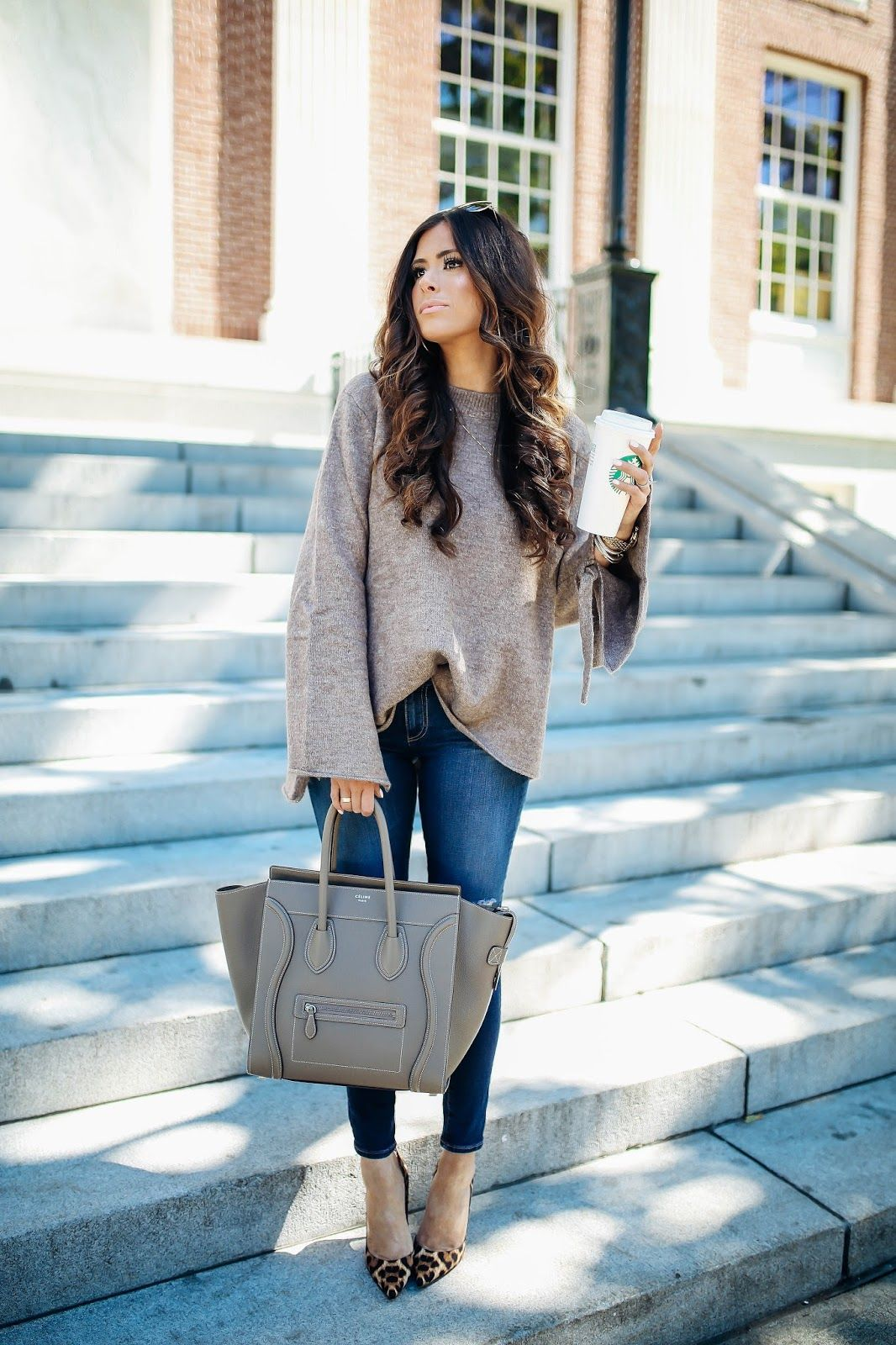 The Sweetest Thing: A Casual Fall Outfit from Burlington ...