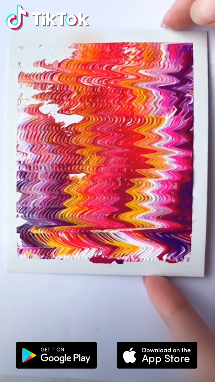 Photo of Easy art painting tutorial! Download #TikTok to find more #DIY and #painting ide…