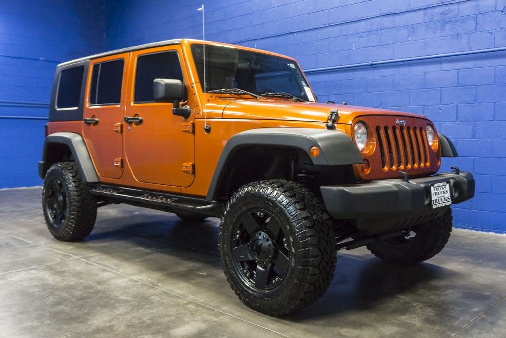 Manual 2010 Jeep Wrangler 4x4 Hard-Top with Lift Kit For ...