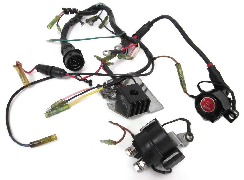 Omc Power Trim Wiring