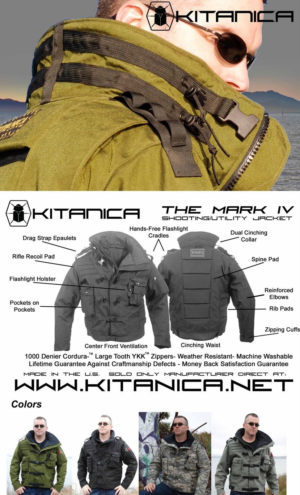 Kitanica Tactical Clothing Tactical Wear Military Gear [ 1600 x 971 Pixel ]