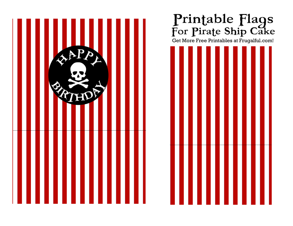 Pirate ship flag printable red pirate printables for Pirate ship sail template