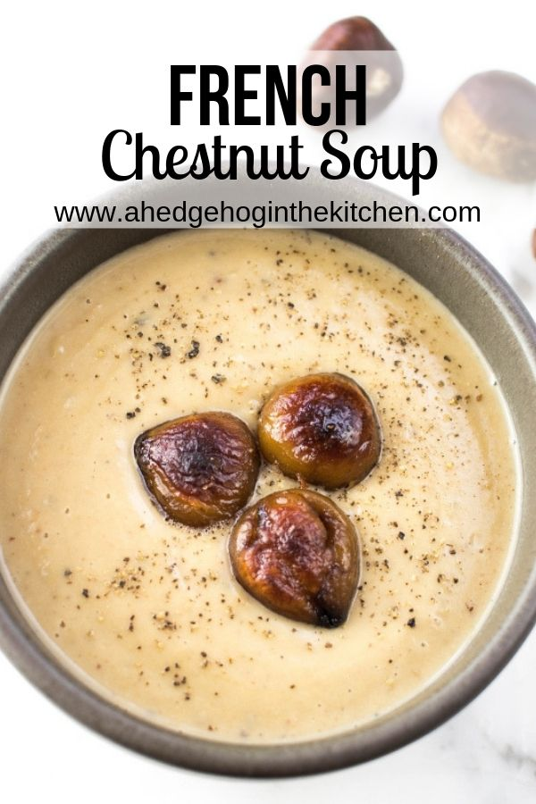 Photo of French Chestnut Soup