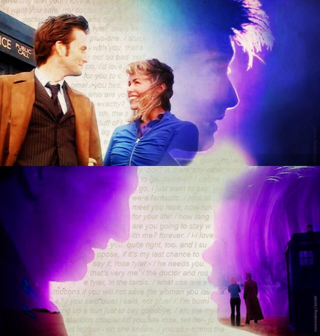 OTP: the Doctor and Rose :)