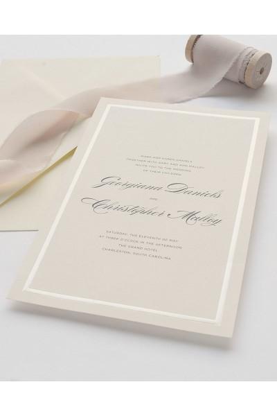 Pearl Foil Print At Home Invitation Kit In 2020 Wedding Invitation Kits Invitation Kits Ivory Wedding Invitations