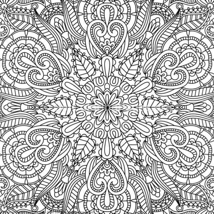 16 Vintage Ornamental Pattern Coloring Pages Getcoloringpages Org