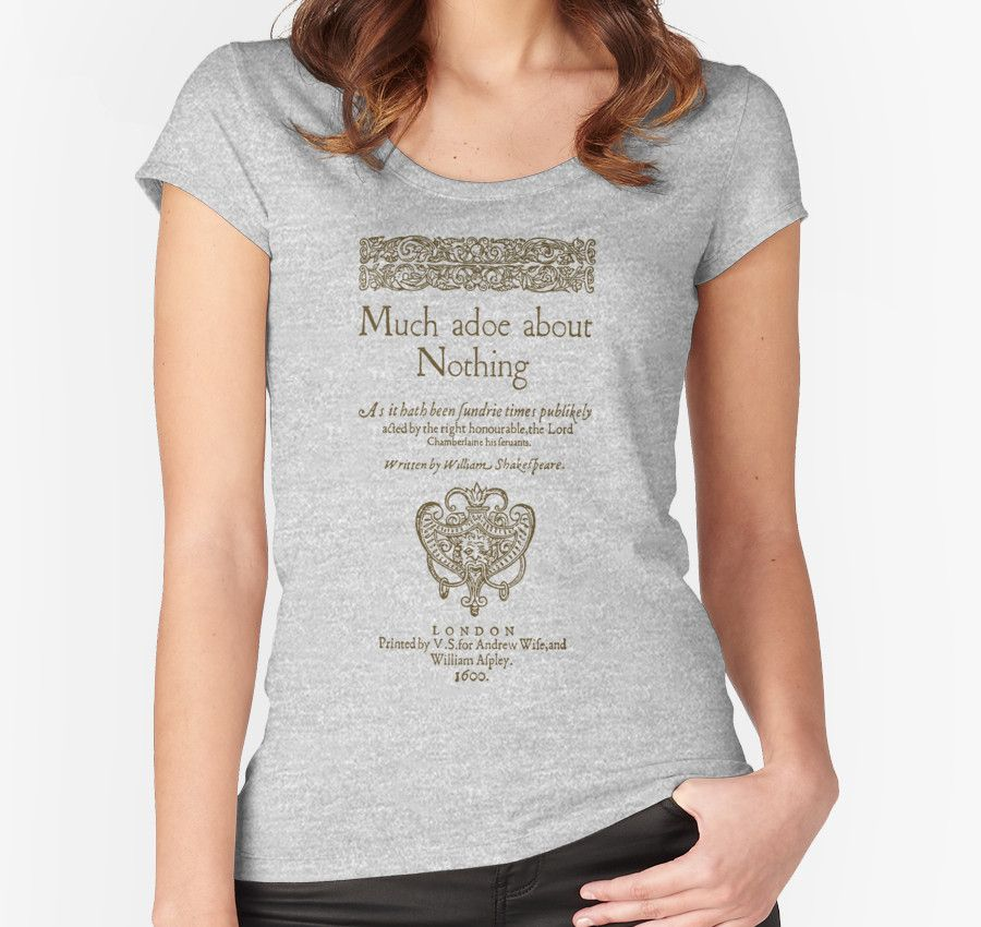 Shakespeare, Much adoe about nothing 1600 by bibliotee