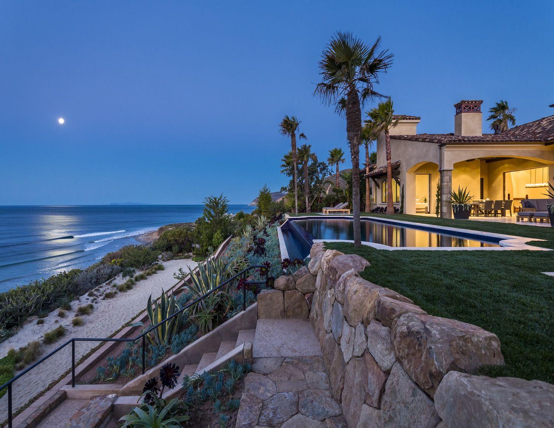 Malibu Beachfront Property California HOUSE OF THE DAY