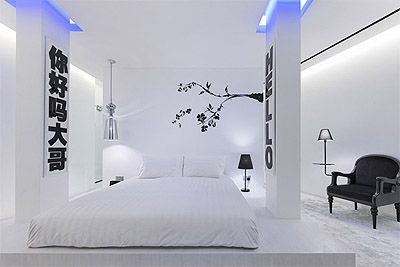 hotel-design-ideas-room-2 | Black & White | Pinterest | Commercial ...
