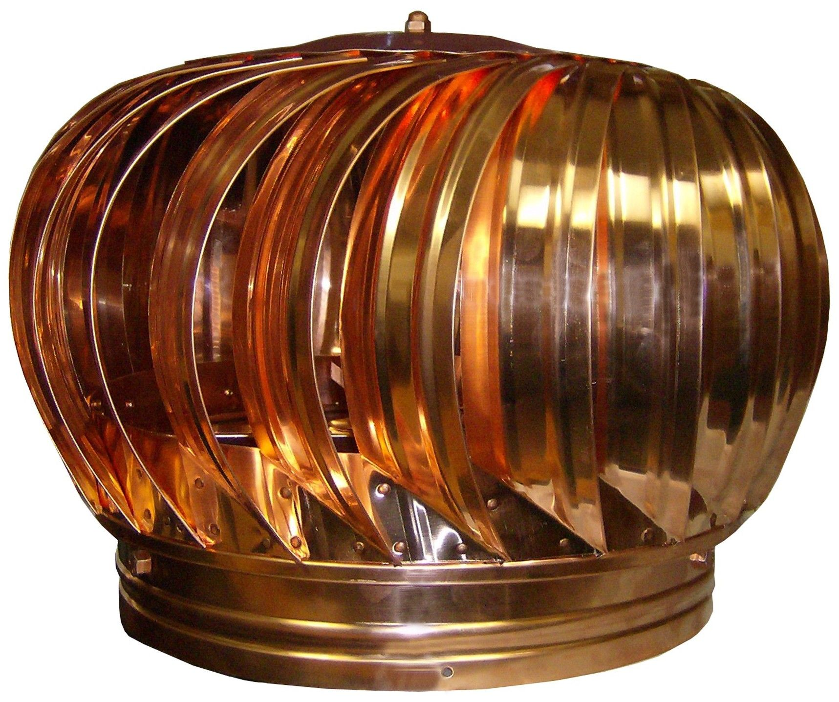 Copper Spinning Turbine Vent Exterior Roof Vents Copper Roof Copper Bathroom