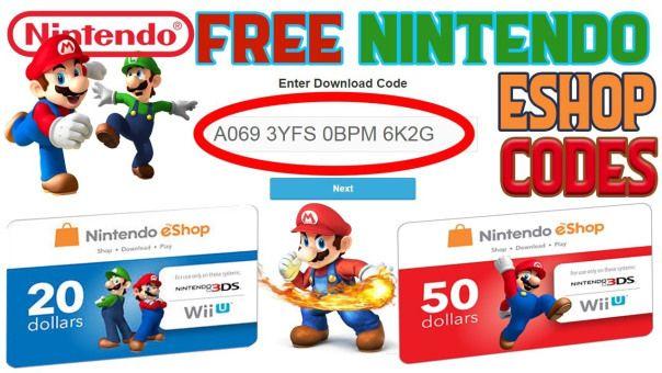Free nintendo eshop codes no survey - Free eshop c