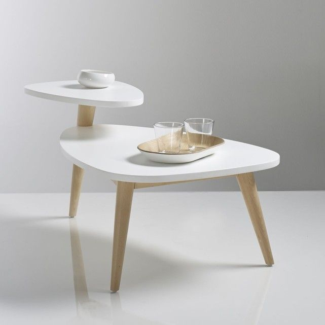 PlateauJimi TailleUnique Table Double Vintage Basse 8nw0vmN