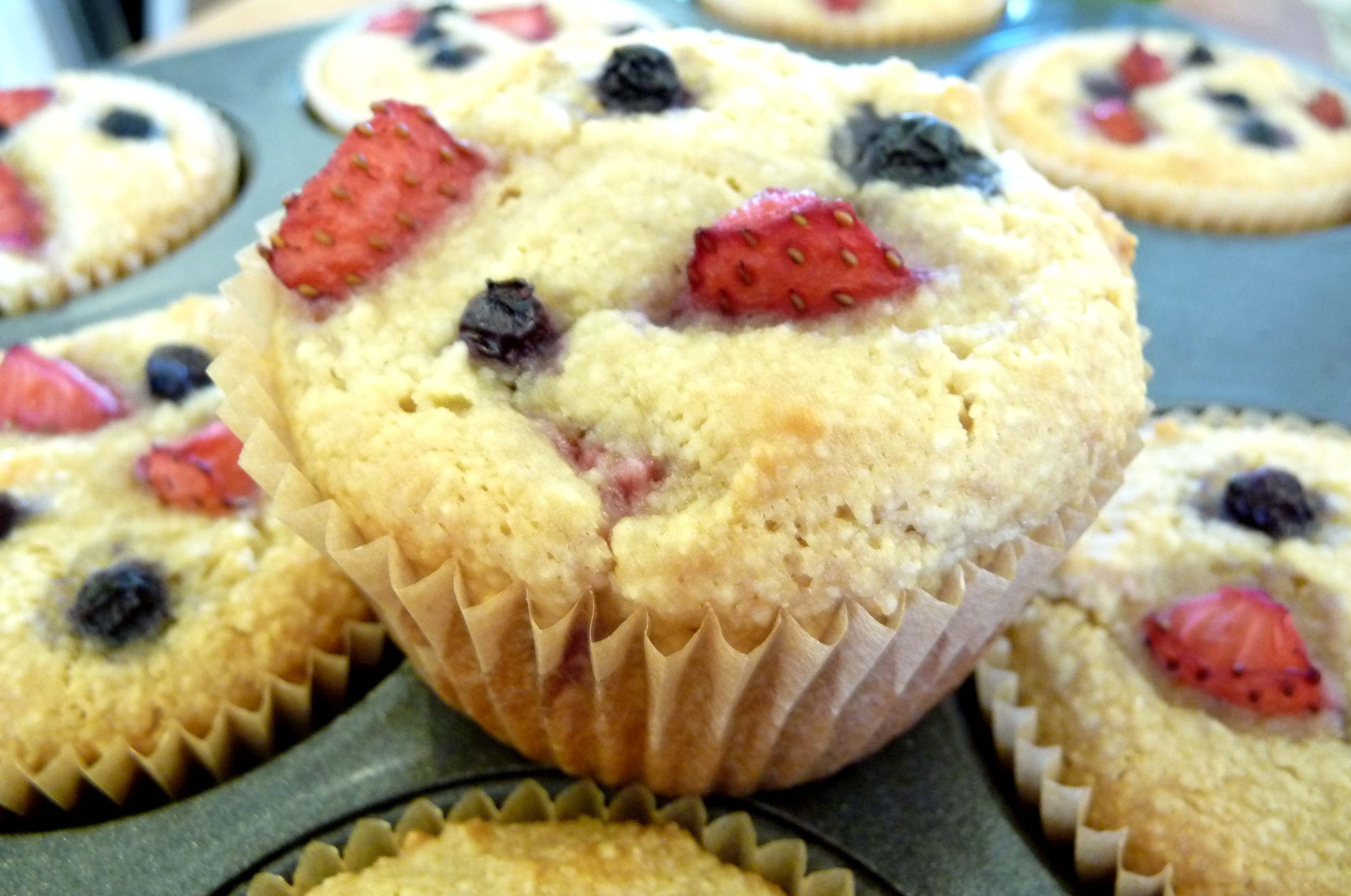 """These grain-free muffins are so moist and delicious, I've often added a dollop of whipped cream to the top and called them dessert!For a special way to say """"I Love U!"""" check out the picture below...."""