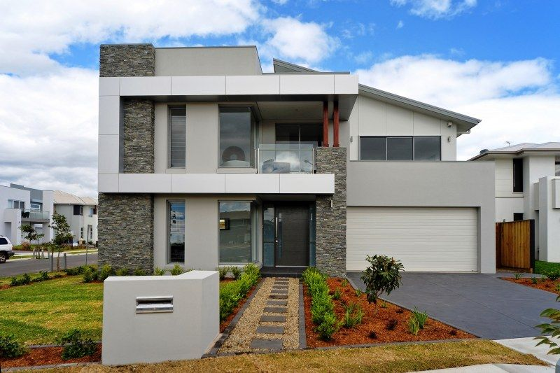Grey And White Exterior Colour Scheme With Render And Cladding Google Search Home Ideas