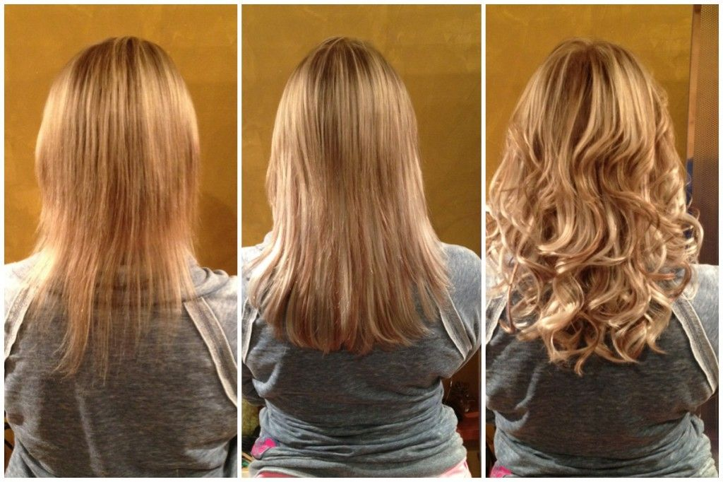 Hair Extensions Before And After Hair Extensions Pinterest