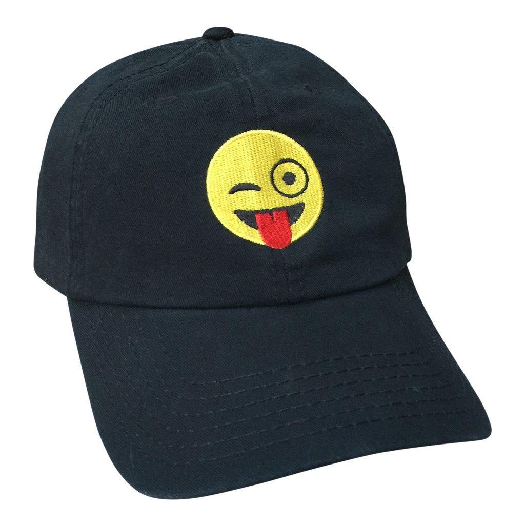 Emoji Cap Cap Emoji Monogram