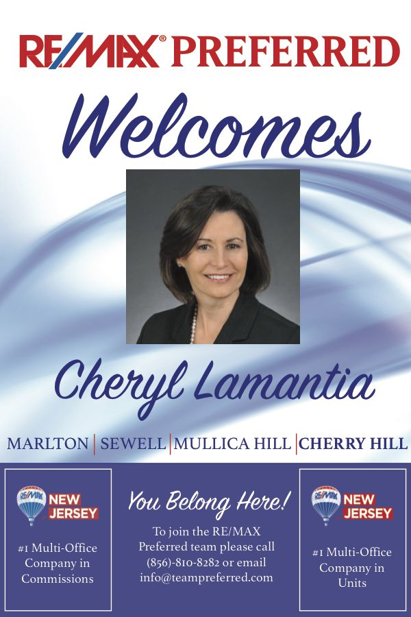 Check Out Our New Agent Cheryl Lamantia To Become A New Agent Check Us Out On The Website Attached Remax Email Company How To Become