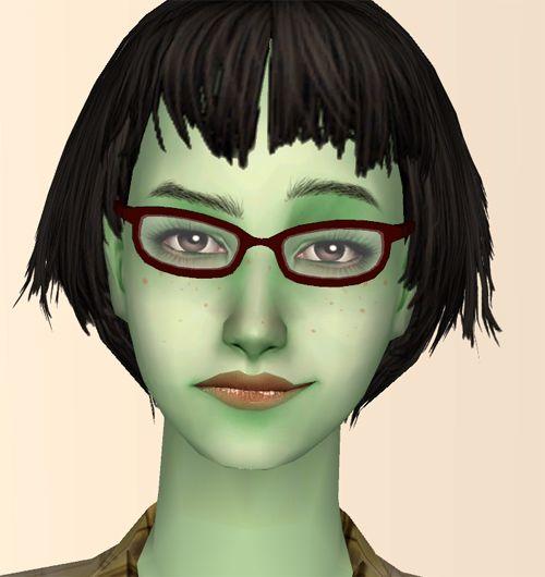 "Mod The Sims - ""Mokey-Hokey"" 12 Maxis Base Game Glasses Recolors"