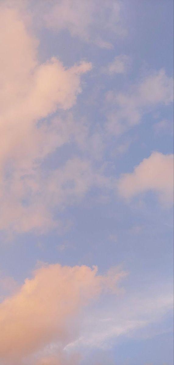 Pin Oleh Kaihara Di Sky Fotografi Langit Estetika Langit Gambar Awan Clouds wallpaper iphone aesthetic awan