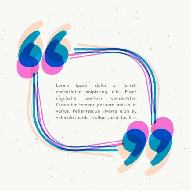 Colorida plantilla de texto Vector Gratis ESTAMPADOS Pinterest - graphic design quote template